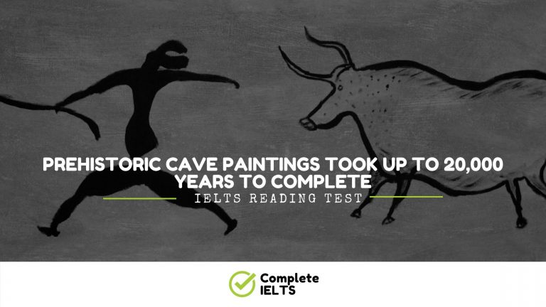 Prehistoric Cave Paintings Took up to 20,000 Years to Complete