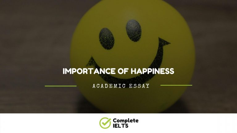 Essay on Importance of Happiness