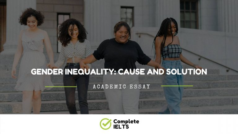 Essay on Gender Inequality: Cause And Solution
