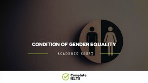 Essay on Condition of Gender equality
